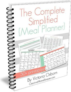 CompleteSimplifiedMealPlanner