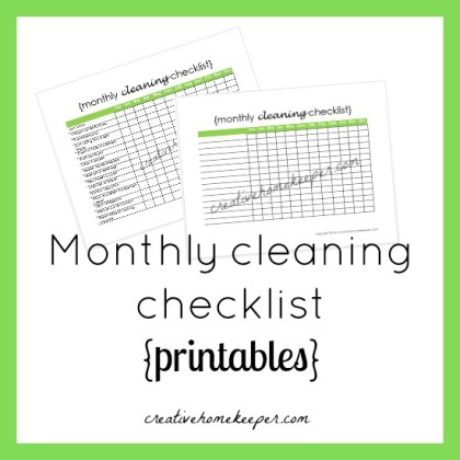 Monthly-Cleaning-Checklist-printable